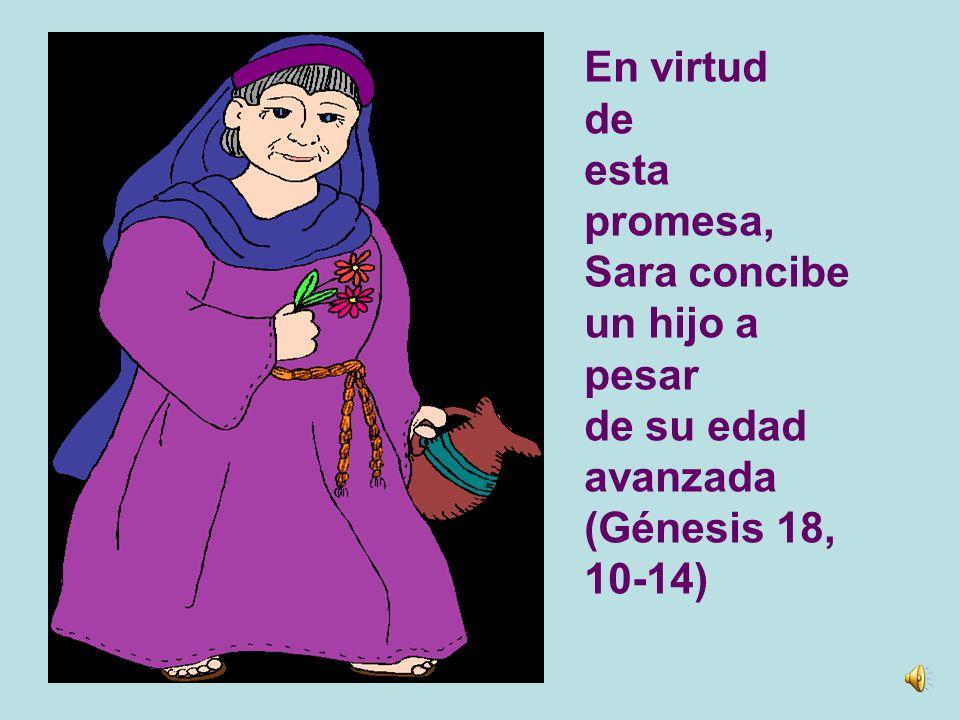 Al principio de todo está Eva: a pesar de su desobediencia recibe la promesa de una descendencia que será vencedora del Maligno (Génesis 3.20)
