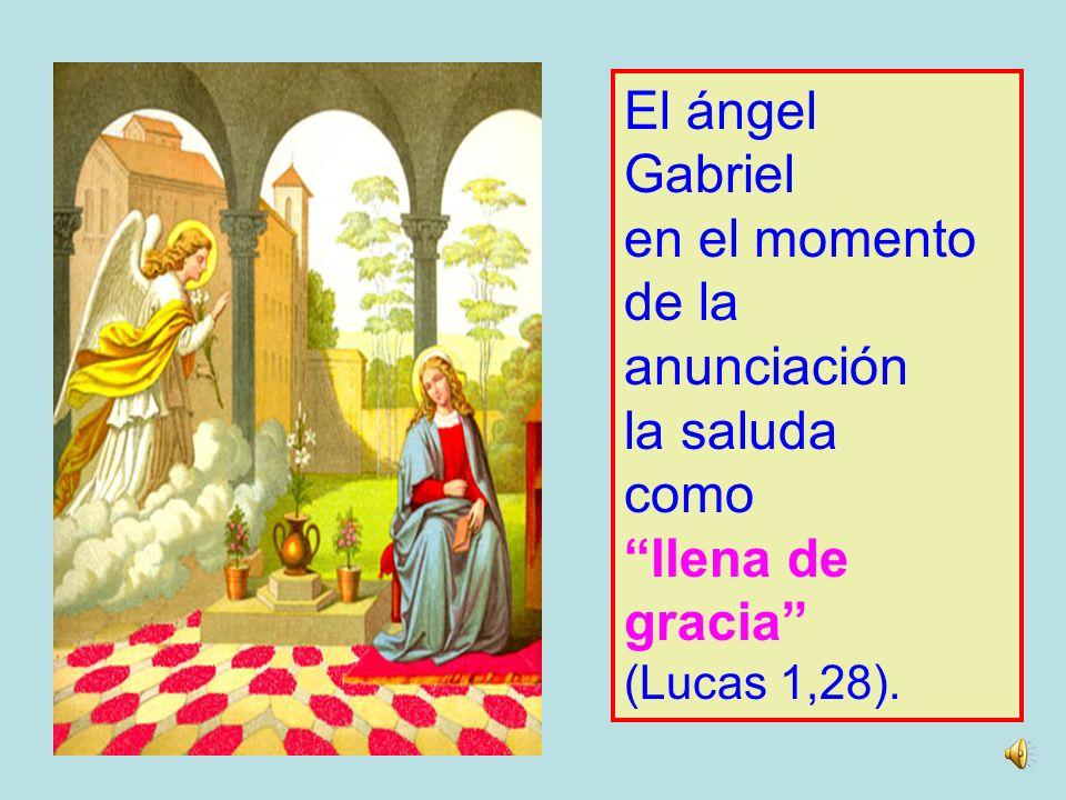 La inmaculada concepciÓn Para ser la Madre del Salvador, María fue dotada por Dios con dones a la medida de una misión tan importante (Lumen Gentium,