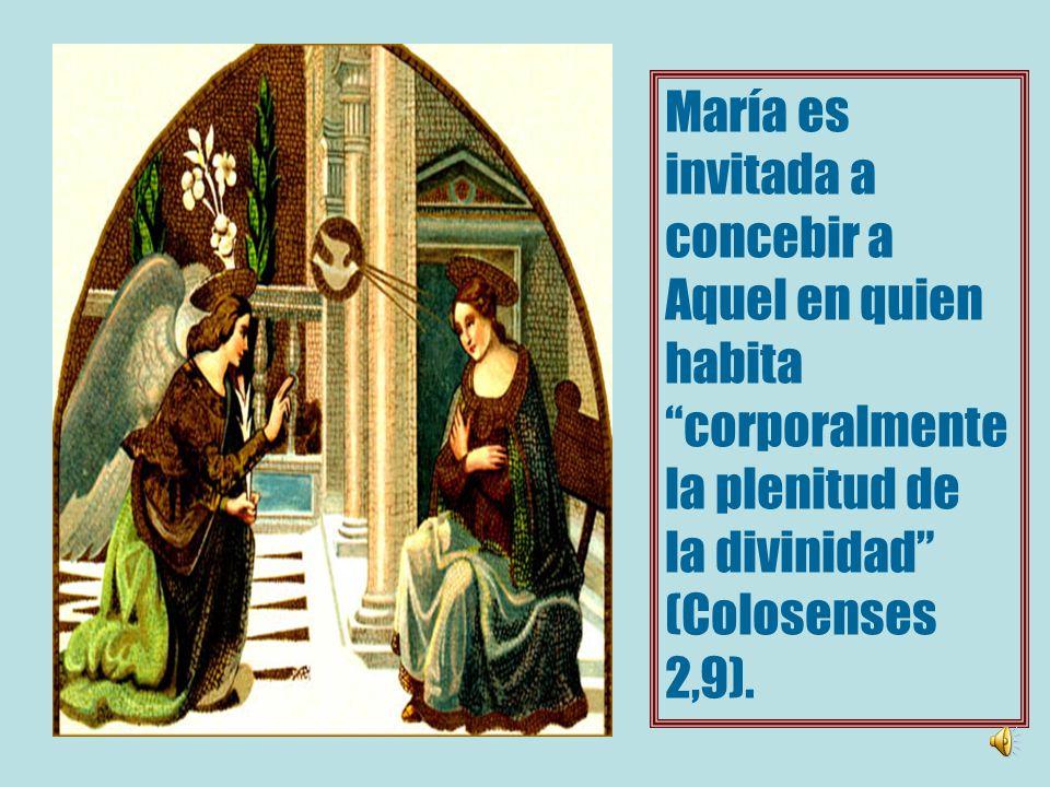 La anunciación a María inaugura la plenitud de los Tiempos, (Gálatas 4,4) es decir, El cumplimiento de las promesas y los preparativos.