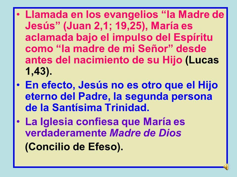 He aquí la esclava del Señor: Hágase en mí según tu palabra. (Lucas 1, 37-38).
