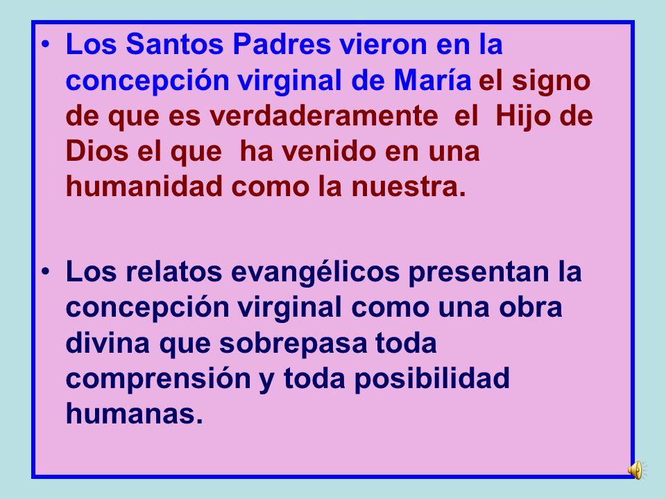 La Iglesia siempre ha confesado que Jesús fue concebido en el seno de María únicamente por el poder del Espíritu Santo.