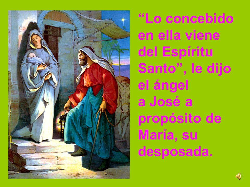 Los Santos Padres vieron en la concepción virginal de María el signo de que es verdaderamente el Hijo de Dios el que ha venido en una humanidad como l