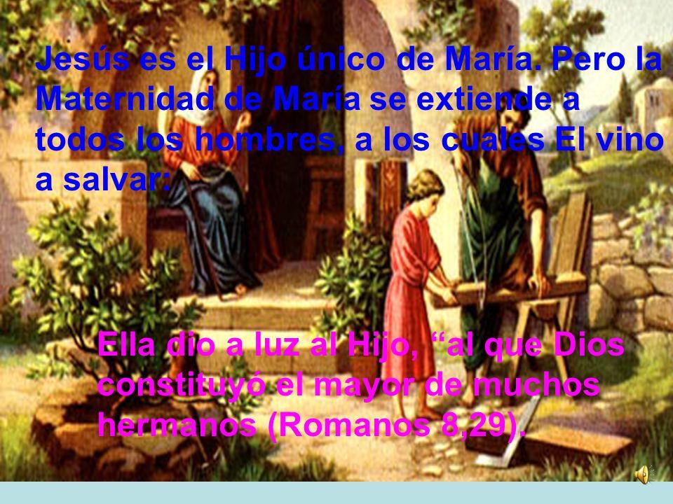 La Iglesia ve en ello el cumplimiento de la promesa divina hecha por el profeta Isaías: He aquí que la virgen concebirá y dará a luz un hijo (7,14)