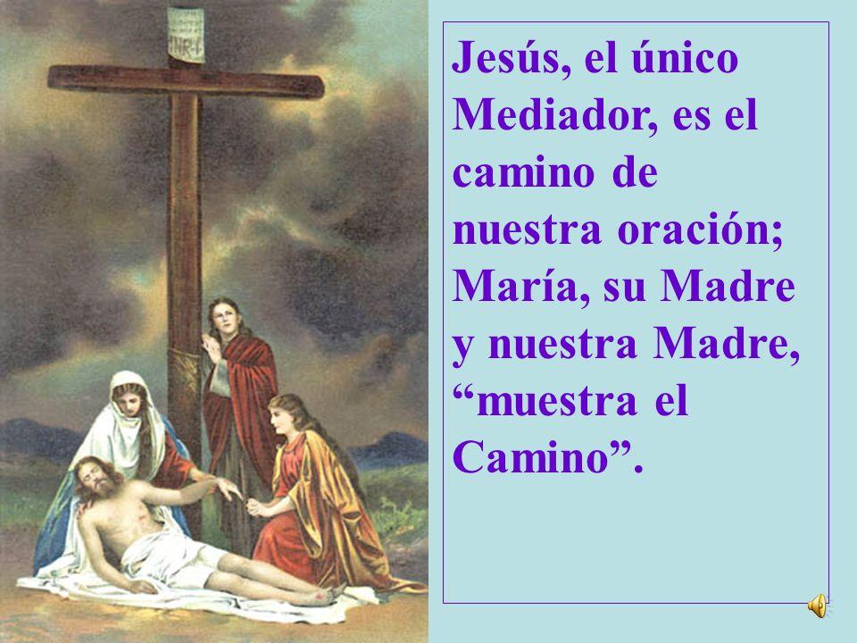 Desde el sí dado por la fe en la anunciación y mantenido sin vacilar al pie de la cruz, la maternidad de María se extiende desde entonces a las herman