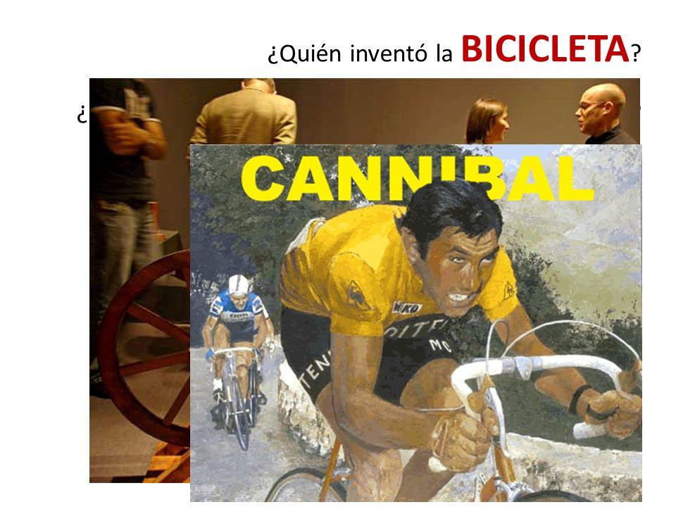 ¿Quién inventó la BICICLETA ¿Cuantos Tour de France ganó EDDY MERCX