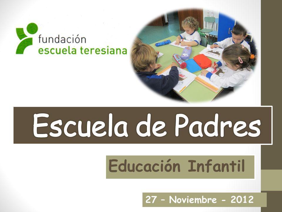 Educación Infantil 27 – Noviembre - 2012