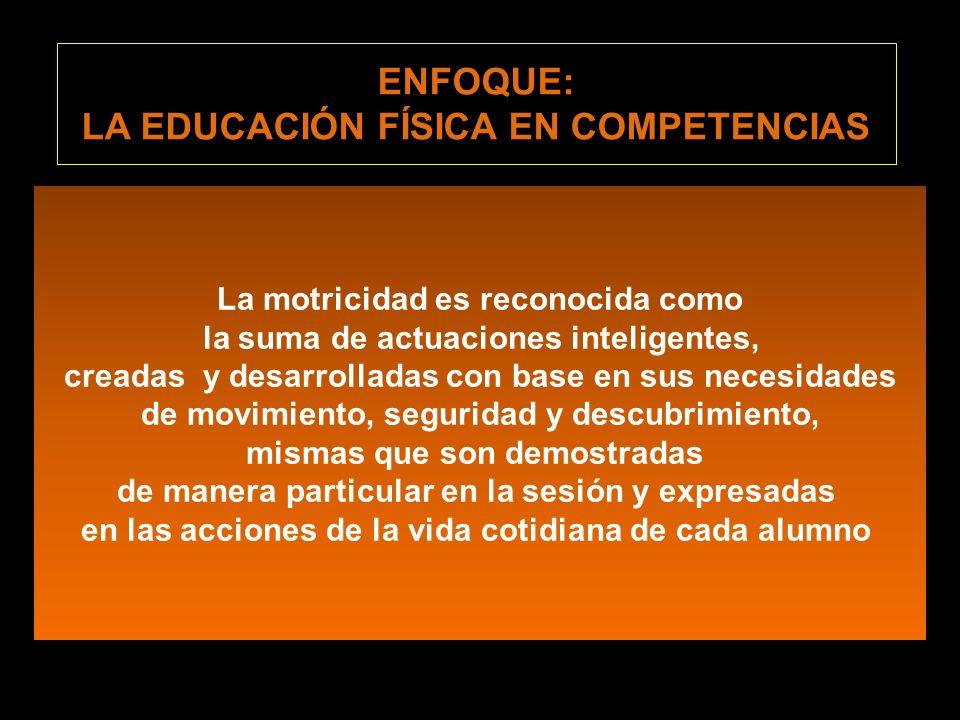 1.Ubicar a la Corporeidad como el centro de su acción educativa 2.