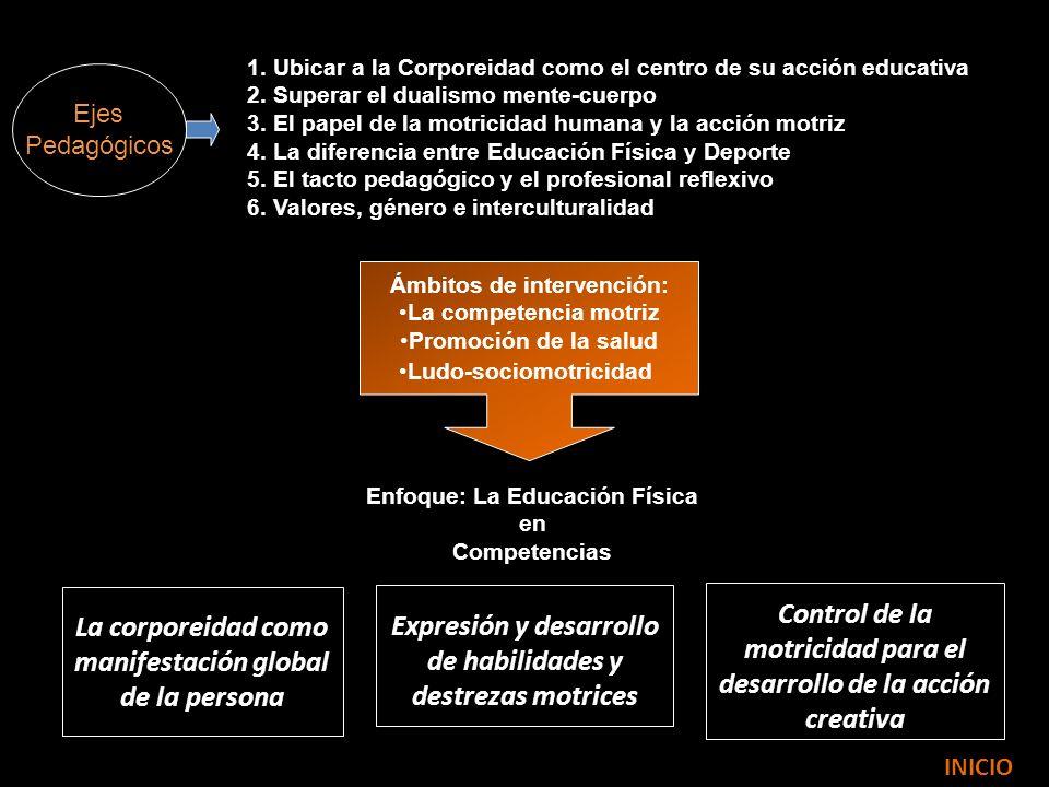 ÁMBITOS DE INTERVENCIÓN EDUCATIVA La competencia motriz.