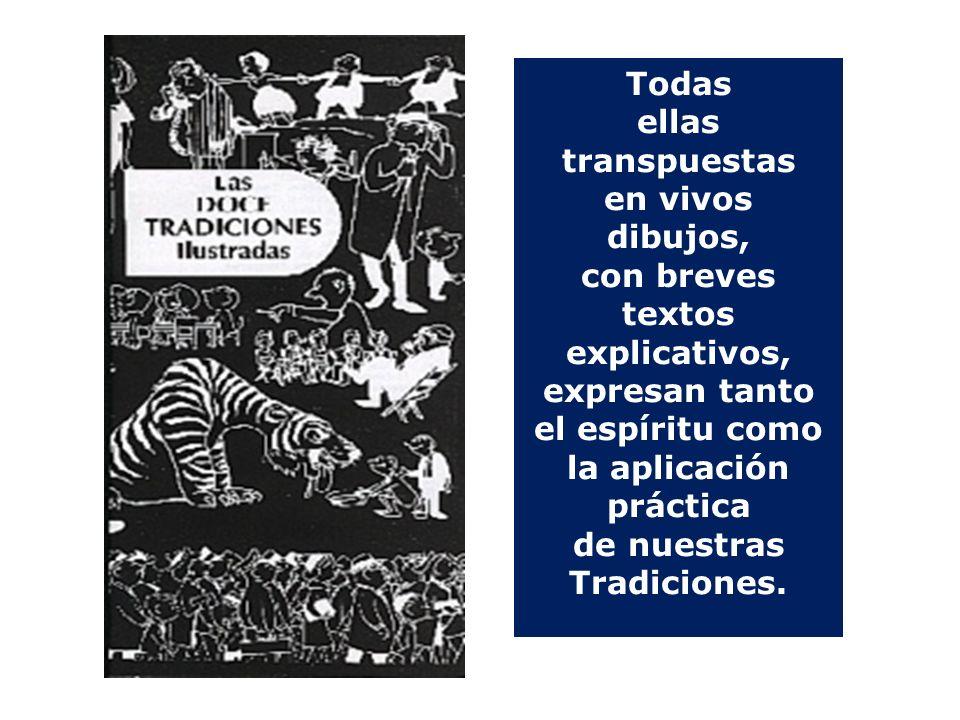 UN DÍA DIOS HABLÓ CONMIGO…… Todas ellas transpuestas en vivos dibujos, con breves textos explicativos, expresan tanto el espíritu como la aplicación práctica de nuestras Tradiciones.