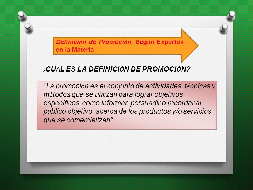 Es difundir información PROPOSITOS DE LA PROMOCION Permitirles a los compradores potenciales enterarse de la existencia del producto, de su disponibilidad y de su precio Otra finalidad de la promoción es la persuasión.
