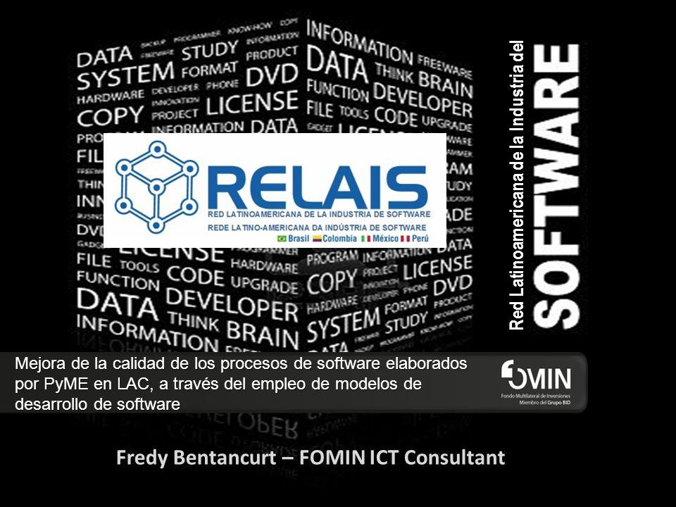 Red Latinoamericana de la Industria del Mejora de la calidad de los procesos de software elaborados por PyME en LAC, a través del empleo de modelos de