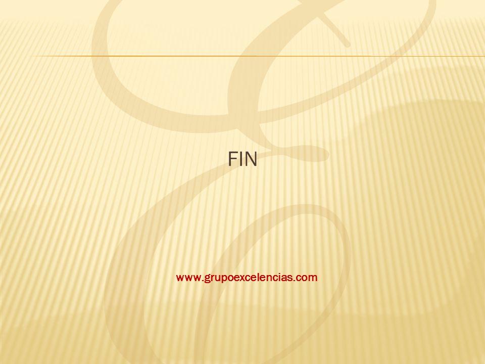 FIN www.grupoexcelencias.com