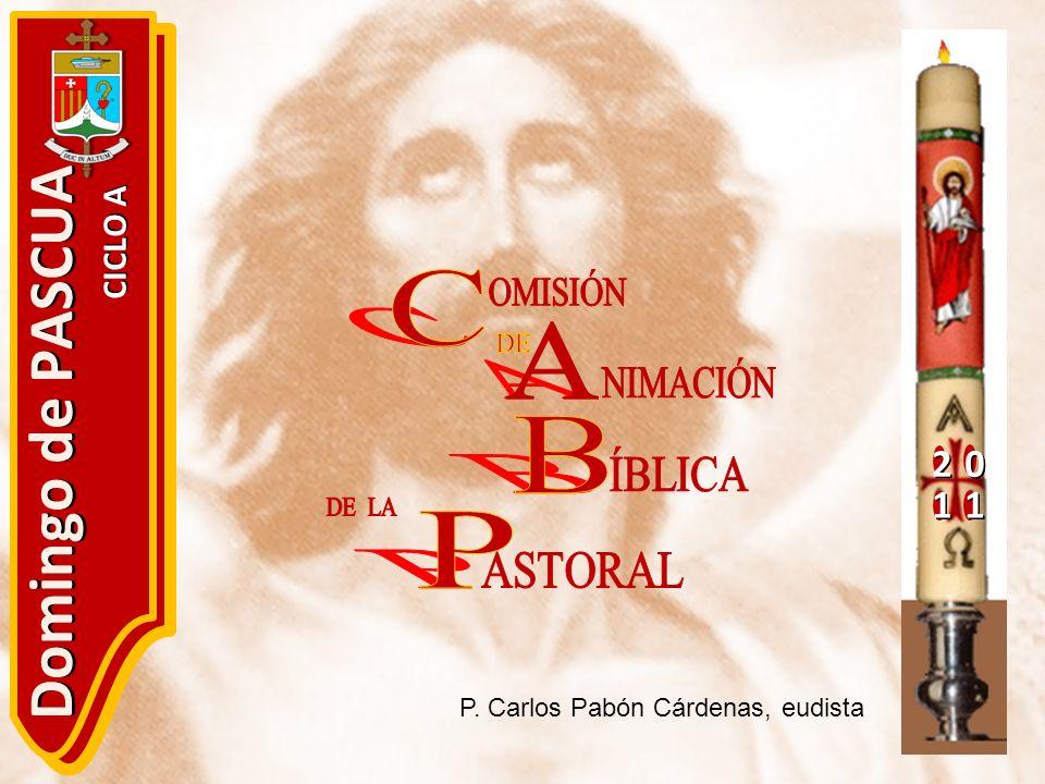 20 11 Domingo de PASCUA CICLO A P. Carlos Pabón Cárdenas, eudista