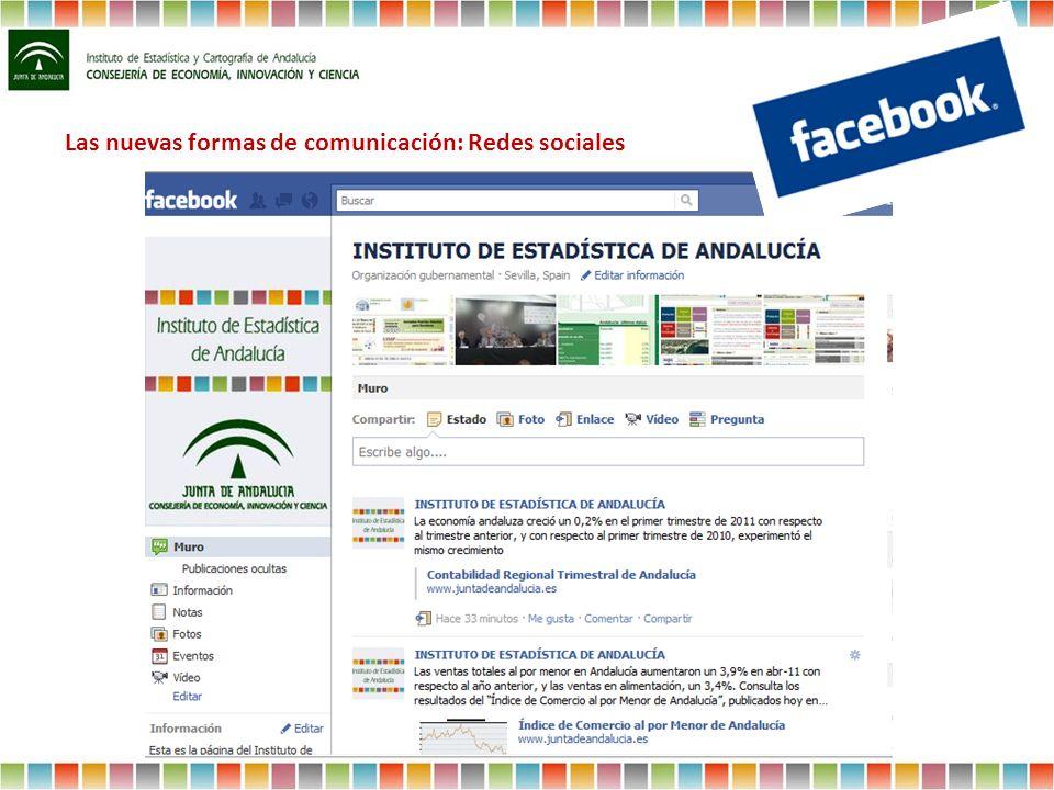 Las nuevas formas de comunicación: Redes sociales
