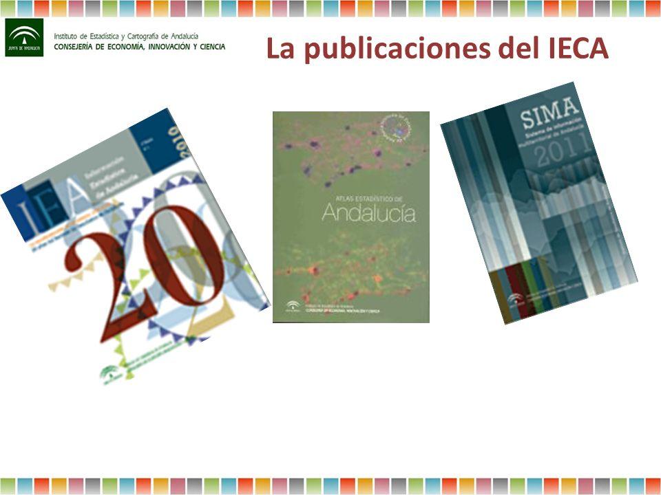 La publicaciones del IECA
