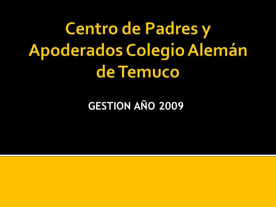 GESTION AÑO 2009