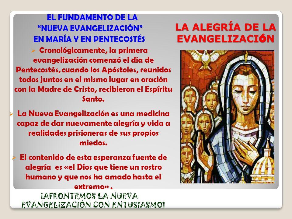 El sostén de todo proyecto de Nueva Evangelización