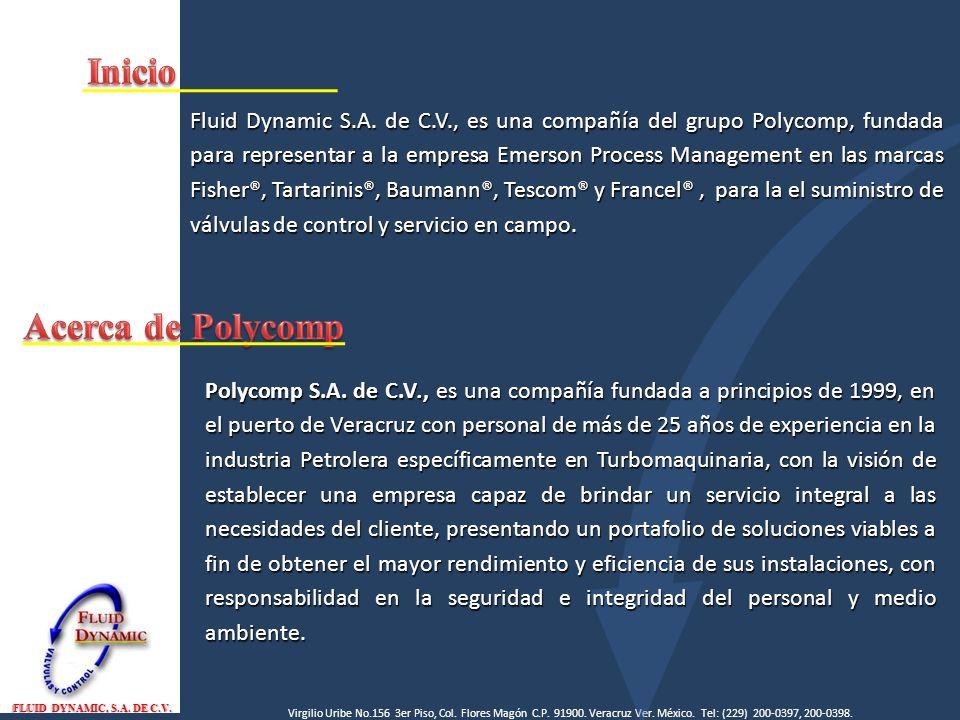 Elemento Finales de Control FLUID DYNAMIC, S.A.DE C.V.