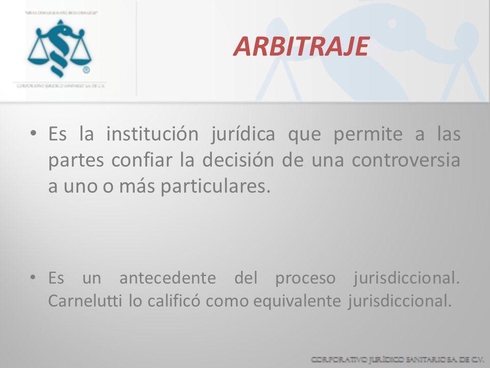 CONCILIACION Consiste en proponer alternativas concretas a las partes para que resuelvan de común acuerdo sus diferencias. En todo caso, la adopción d