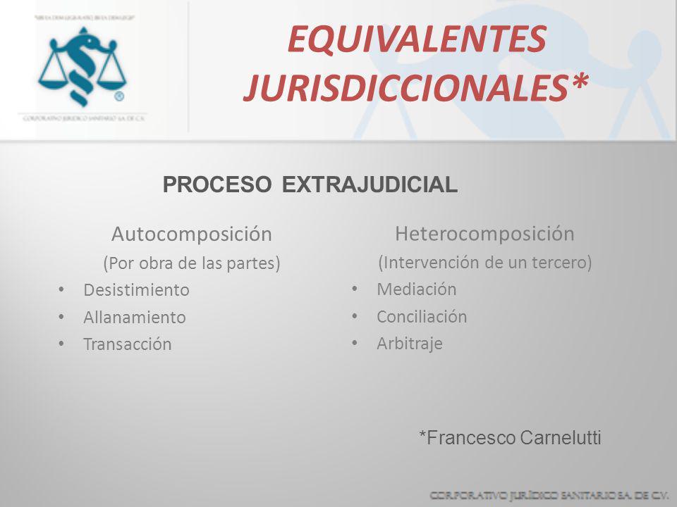 ALTERNATIVAS PARA LA RESOLUCION DE CONTROVERSIAS EN LA PRACTICA MEDICA Corporativo Jurídico Sanitario S.A. de C.V. MEXICO MMIII