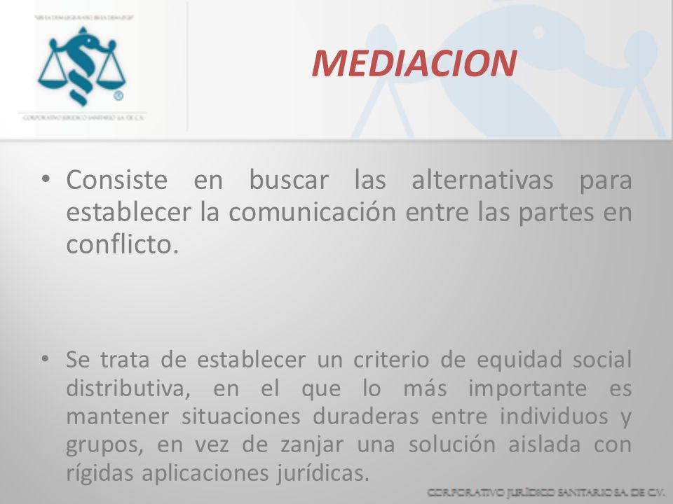 HETEROCOMPOSICION Es un pacto mediante el cual las partes admiten acudir a la opinión de un tercero para la solución de su conflicto. En estricto sent