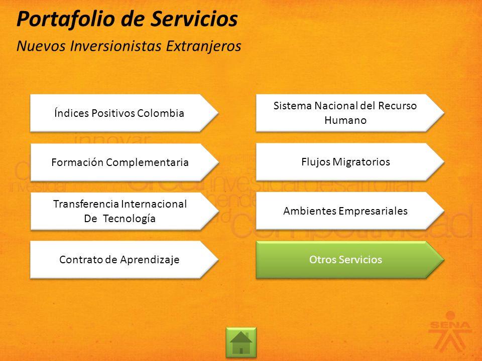 Transferencia Internacional De Tecnología Transferencia Internacional De Tecnología Contrato de Aprendizaje Sistema Nacional del Recurso Humano Sistem