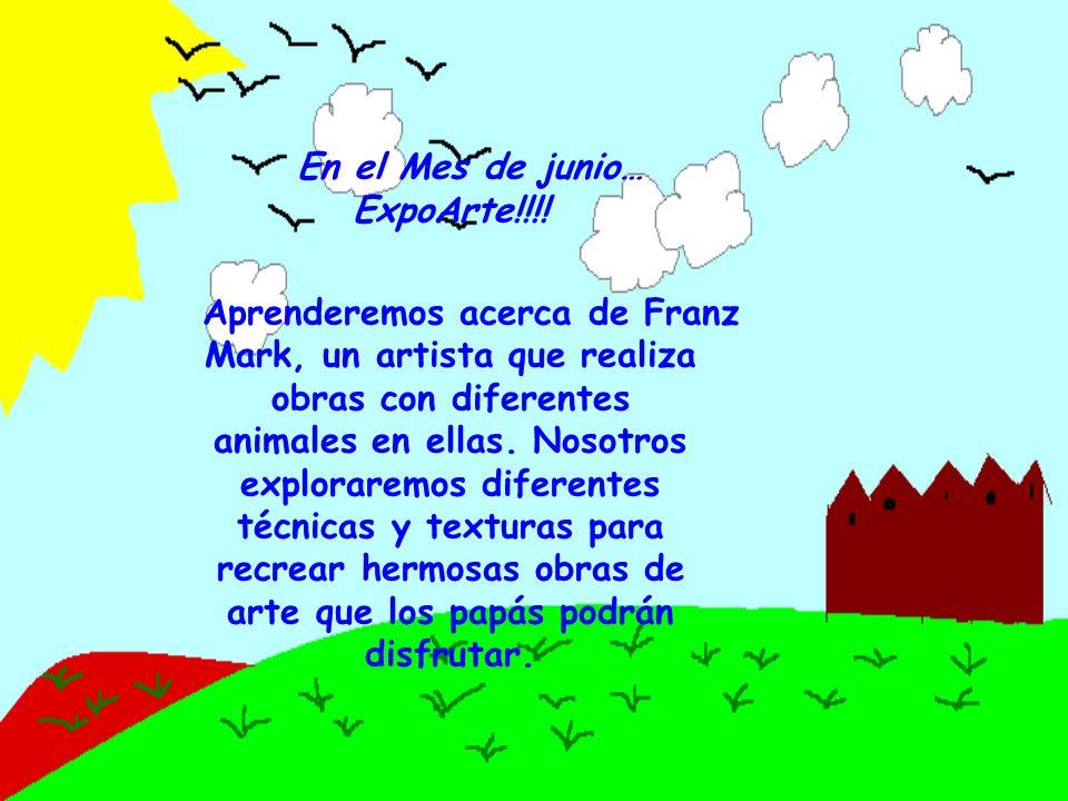 En el Mes de junio… ExpoArte!!!.