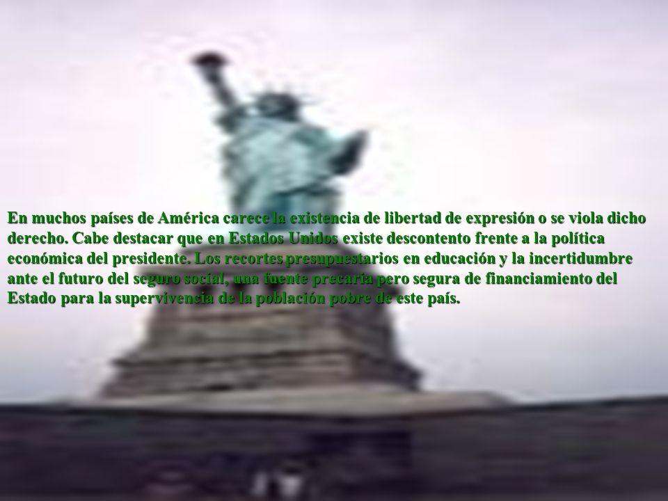 Libertad de expresión América