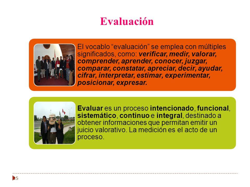15 Evaluación
