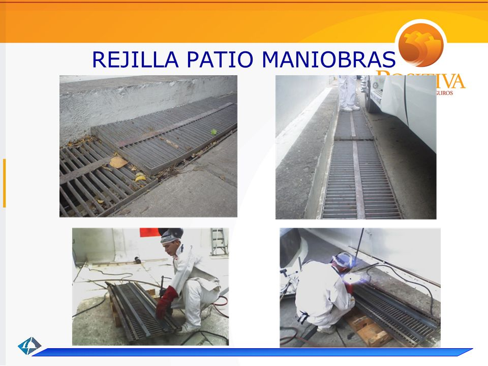 REJILLA PATIO MANIOBRAS
