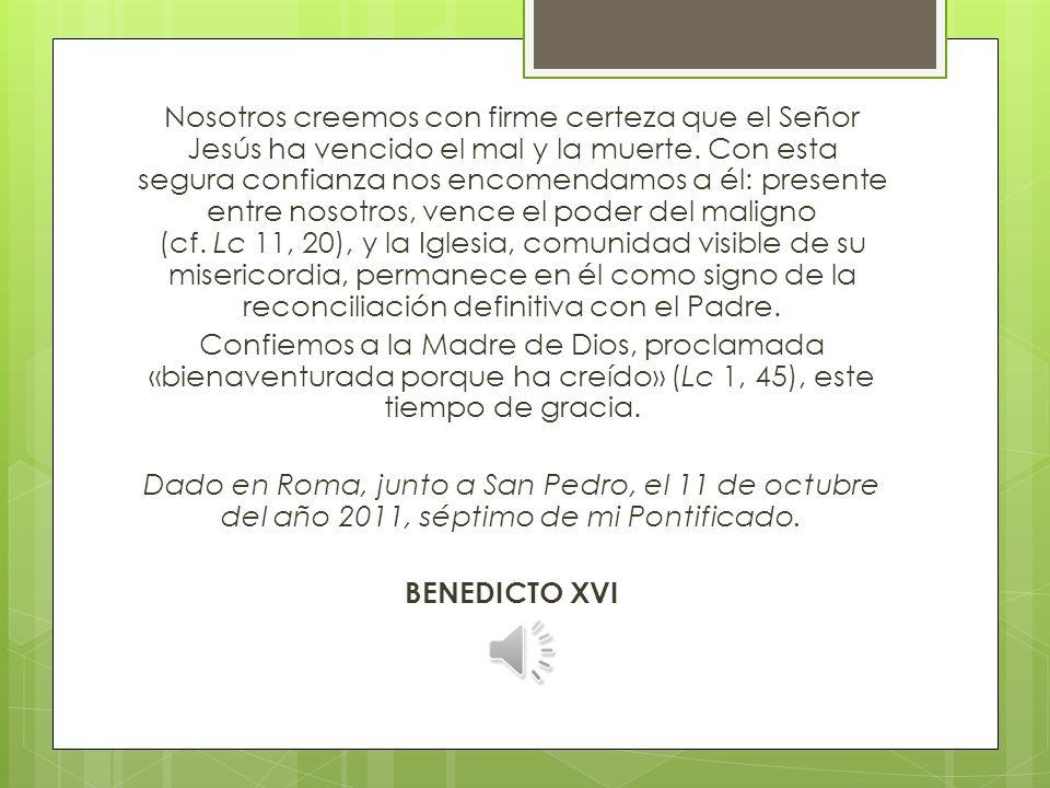 Con el dolor de su pueblo Jn 8, 2-11 Yo tampoco te condeno Lc 8, 40-48 Mujer, tu fe te ha salvado Mt 8, 28-34 Le pidieron que se fuera