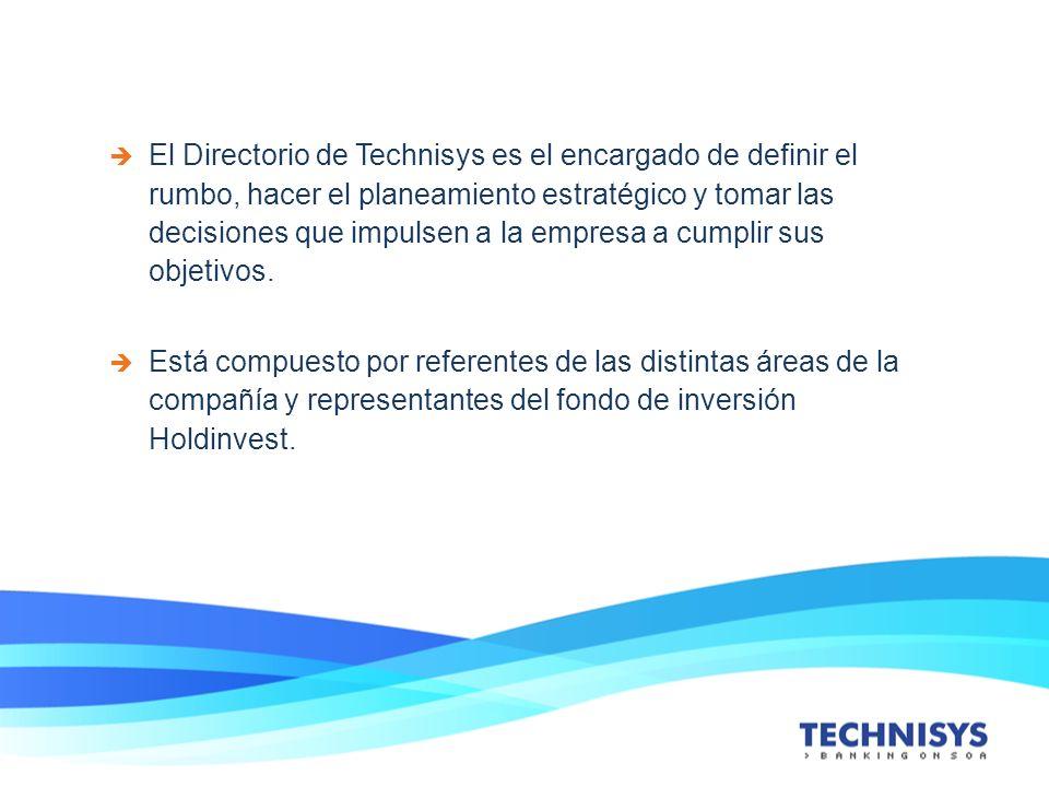 El Directorio de Technisys es el encargado de definir el rumbo, hacer el planeamiento estratégico y tomar las decisiones que impulsen a la empresa a c
