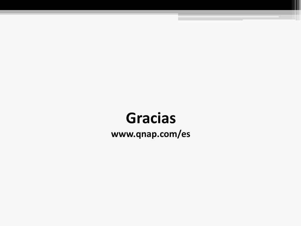 Gracias www.qnap.com/es