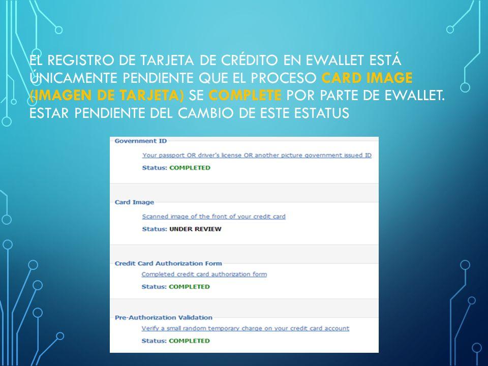 2. SELECT CREDIT CARD CURRENCY (SELECCIONE LA MONEDA DE LA TARJETA DE CRÉDITO) SELECCIONAR LA MONEDA CORRESPONDIENTE, PARA EL CASO DE EL SALVADOR USD
