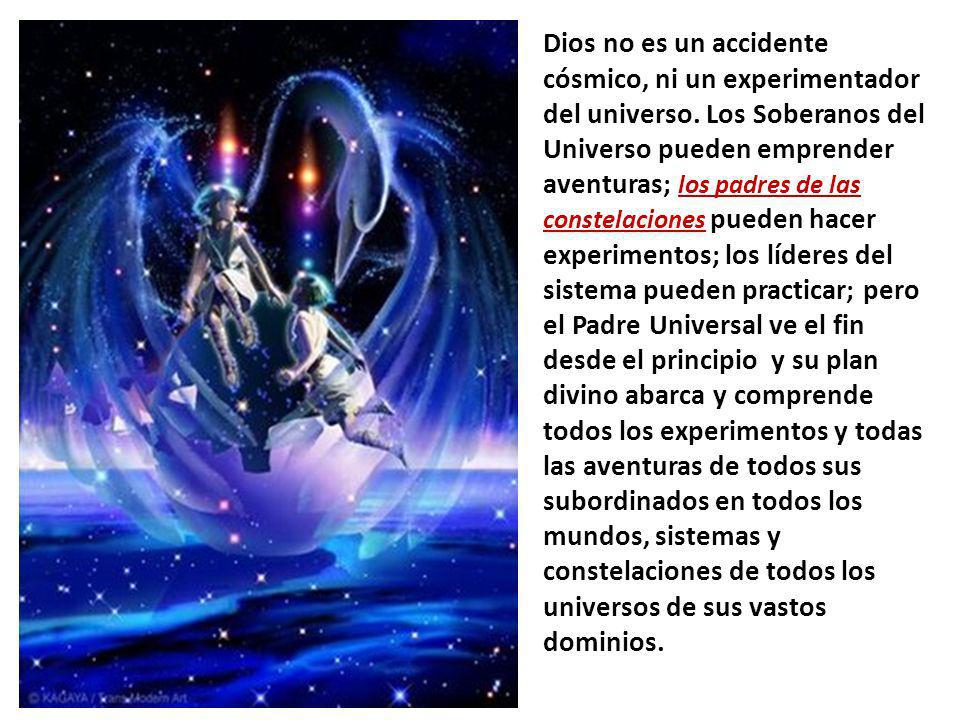 Dios no es un accidente cósmico, ni un experimentador del universo.