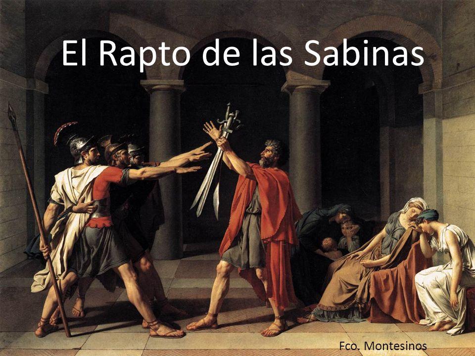 Rómulo demarcó con un arado lo que serían los límites de la ciudad (pomoerium), la futura Roma quadrata del Palatino.