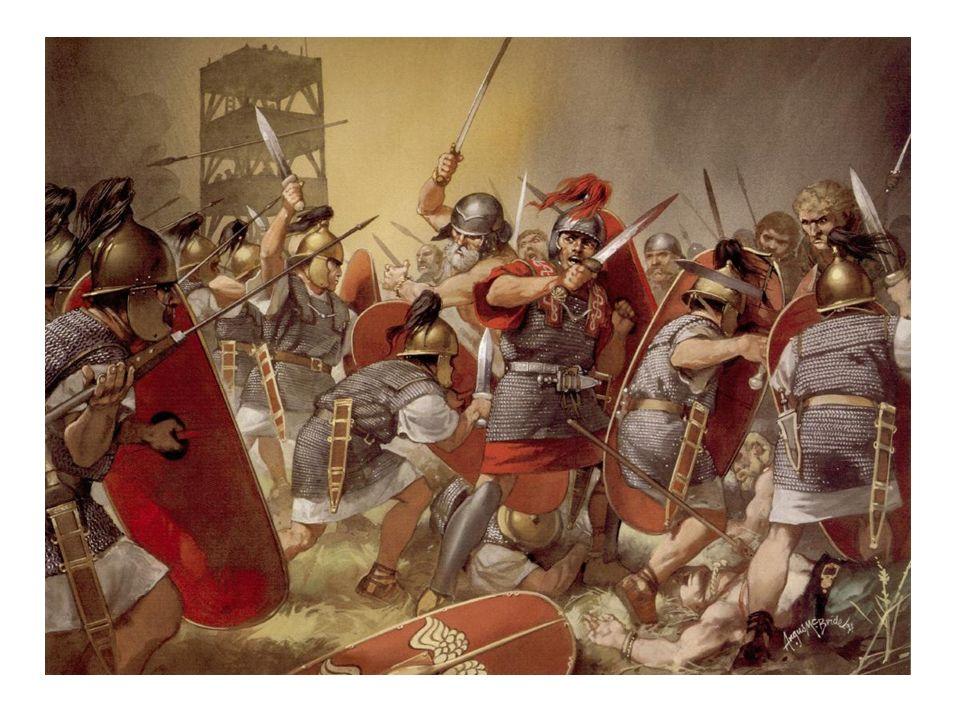 Nadie esperaba ese sorpresivo ataque, y mucho menos Rómulo que dormía plácidamente. Pero el dios Juno, defensor de las puertas de la ciudad, hizo brot