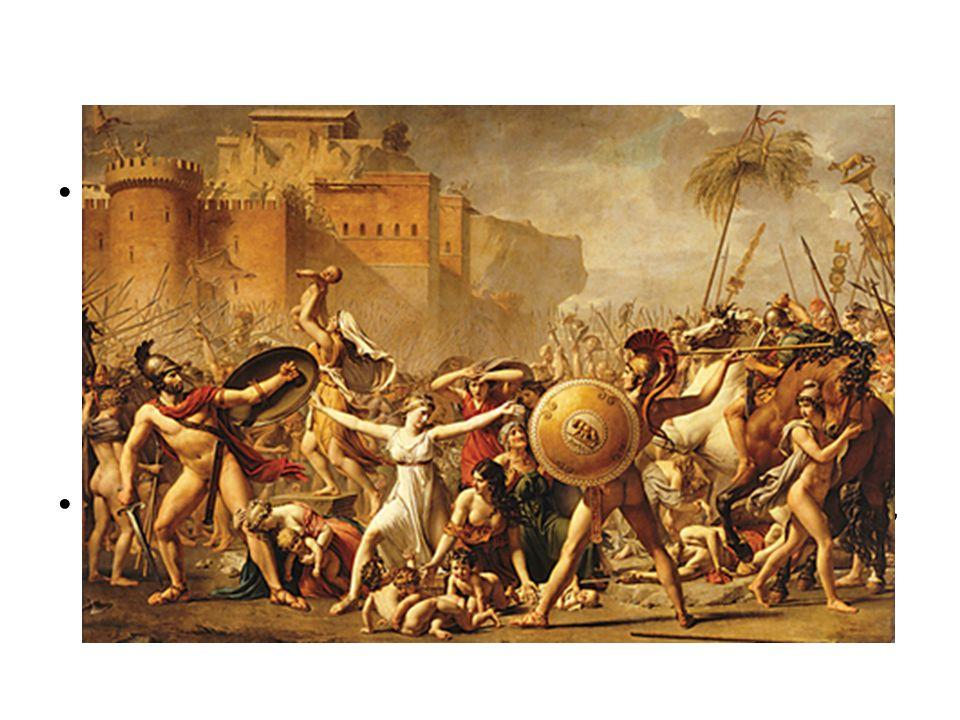 Los sabinos estaban al mando de Mecio Curcio, un charlatán que alardeaba constantemente acerca de lo que haría una vez que traspasara las puertas de R