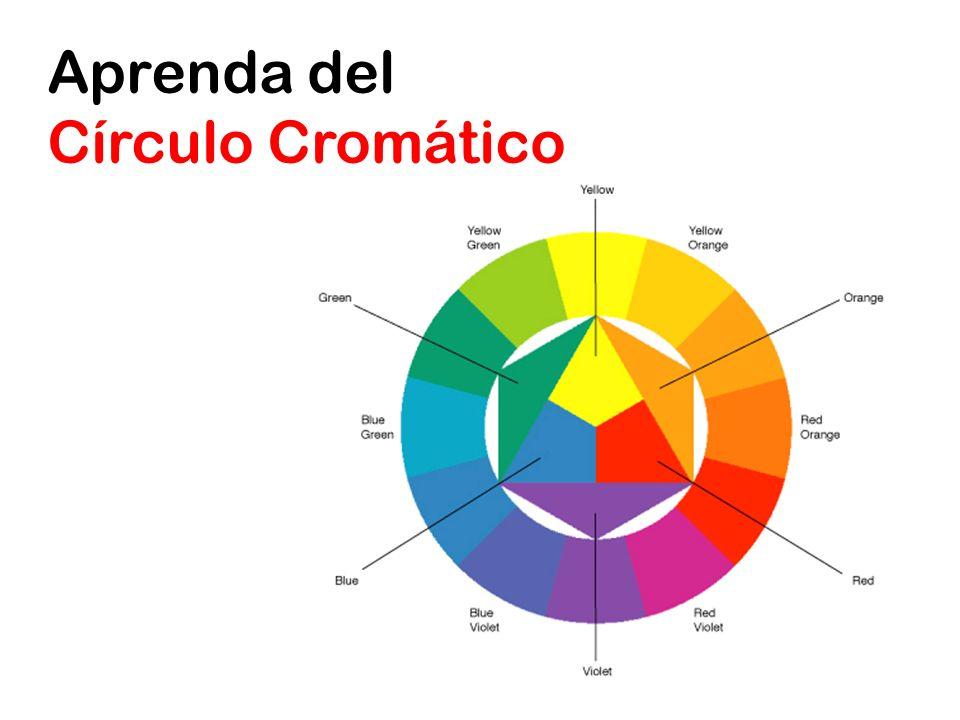 Aprenda del Círculo Cromático