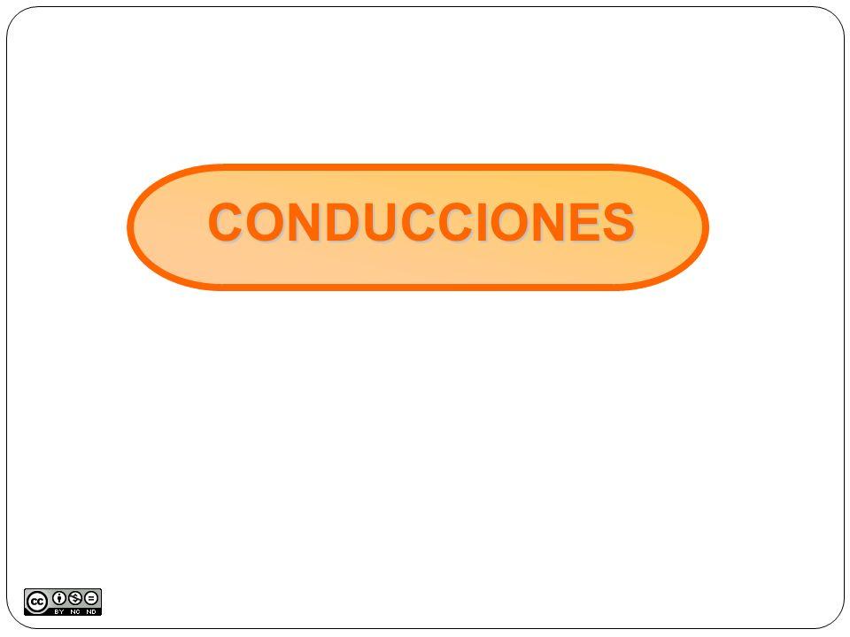 CONDUCCIONES