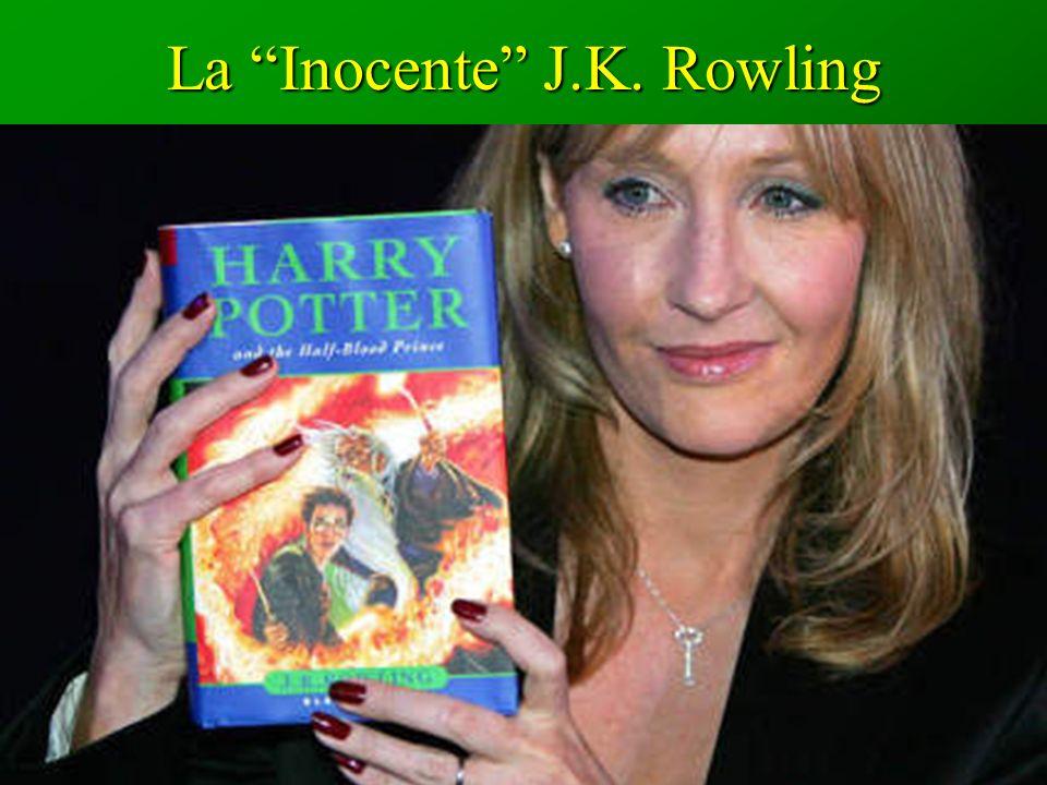 La Inocente J.K. Rowling