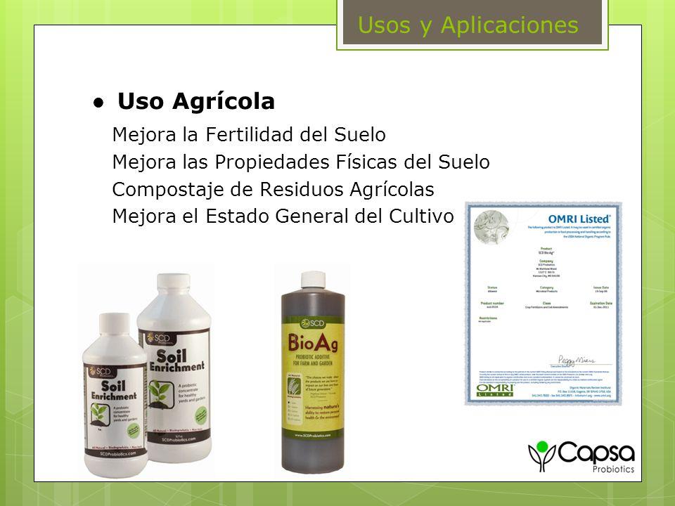 Uso Agrícola Mejora la Fertilidad del Suelo Mejora las Propiedades Físicas del Suelo Compostaje de Residuos Agrícolas Mejora el Estado General del Cul