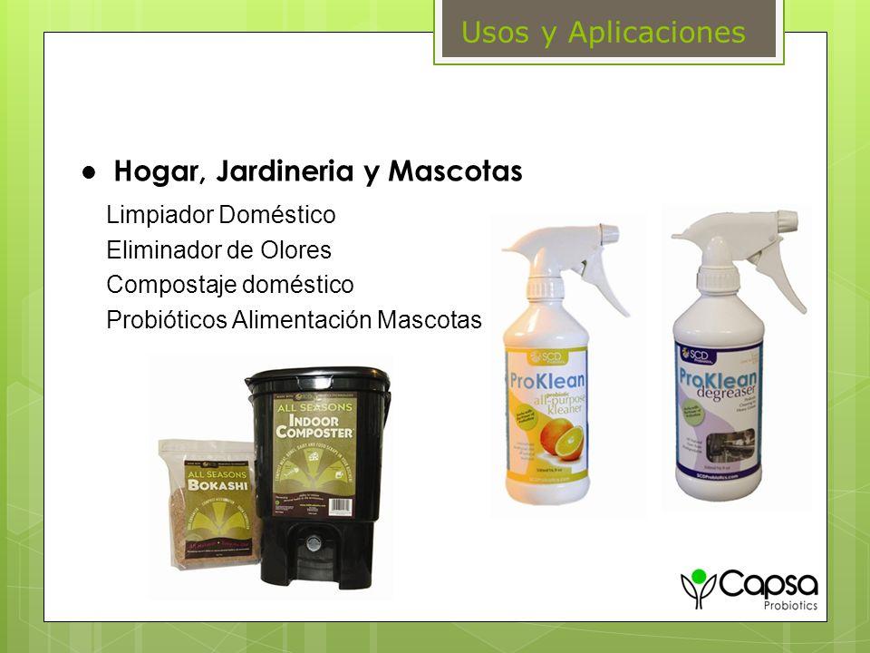 Hogar, Jardineria y Mascotas Limpiador Doméstico Eliminador de Olores Compostaje doméstico Probióticos Alimentación Mascotas Usos y Aplicaciones