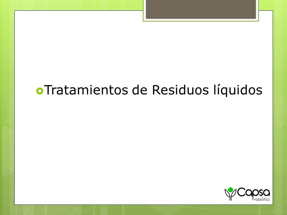 Tratamientos de Residuos líquidos