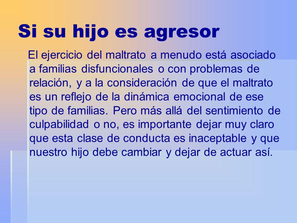 A veces, sin embargo, la agresividad de un adolescente no es atribuible a factores familiares y, por lo tanto, debemos observar si nuestro hijo presenta rasgos de tendencias agresivas.
