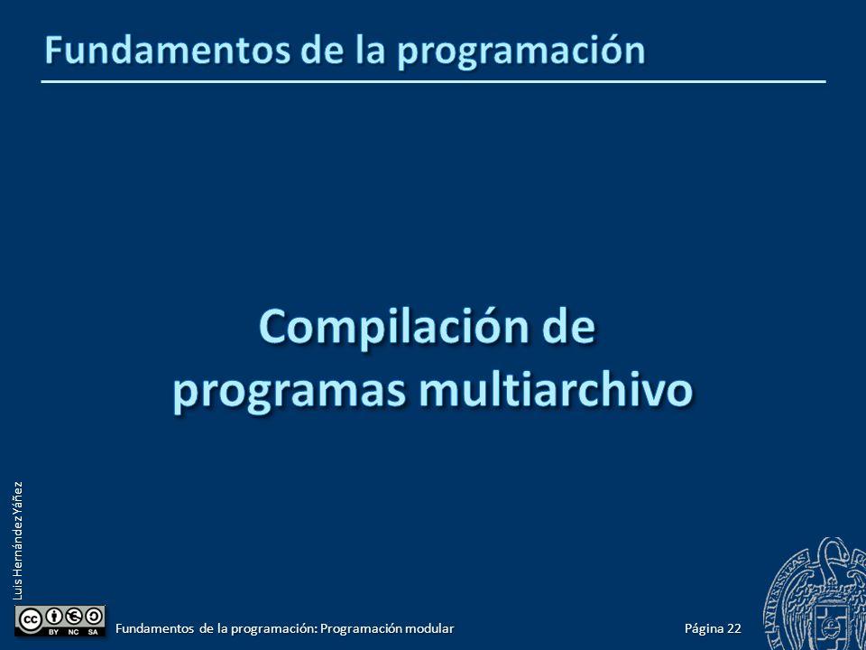 Luis Hernández Yáñez int main() { tTabla tabla; tTabla tabla; if (!cargar(tabla)) if (!cargar(tabla)) cout << Error al abrir el archivo! << endl; cout << Error al abrir el archivo! << endl; else { else { mostrar(tabla); mostrar(tabla); int op; int op; do { do { op = menu(); op = menu(); if (op == 1) { if (op == 1) { tRegistro registro = nuevo(); tRegistro registro = nuevo(); if (!insertar(tabla, registro)) if (!insertar(tabla, registro)) cout << Error: tabla llena! << endl; cout << Error: tabla llena! << endl; else else mostrar(tabla); mostrar(tabla); } else if (op == 2) { else if (op == 2) { int pos; int pos; cout << Posicion: ; cout << Posicion: ; cin >> pos; cin >> pos; if (!eliminar(tabla, pos)) if (!eliminar(tabla, pos)) cout << Error: Posicion inexistente! << endl; cout << Error: Posicion inexistente! << endl;......