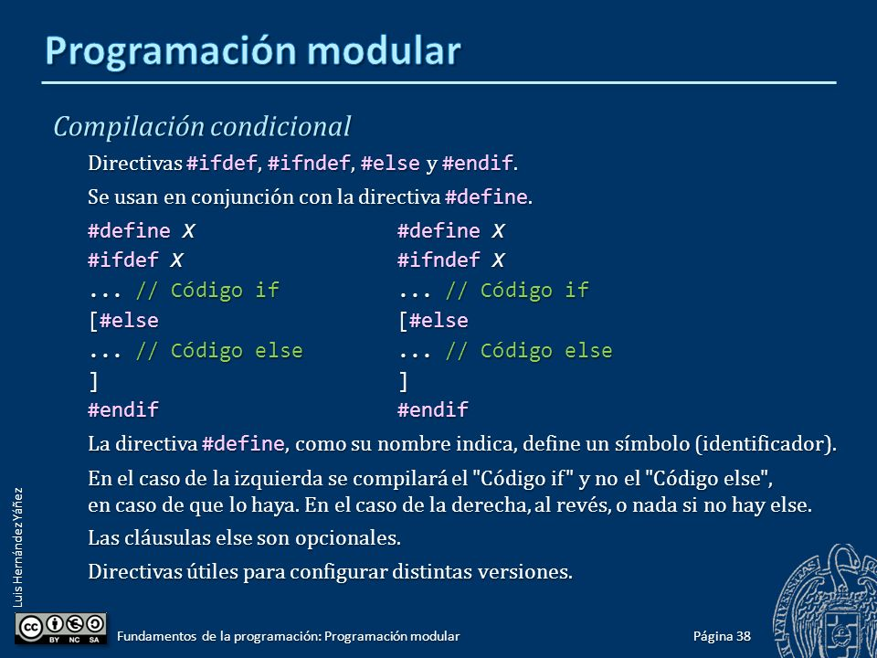 Luis Hernández Yáñez Gestión de una tabla de datos ordenada II Preprocesamiento de #include : Página 37 Fundamentos de la programación: Programación modular #include using namespace std; #include using namespace std; typedef struct {...