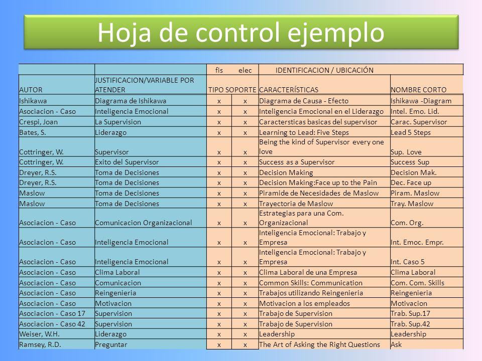 Formato de control 20