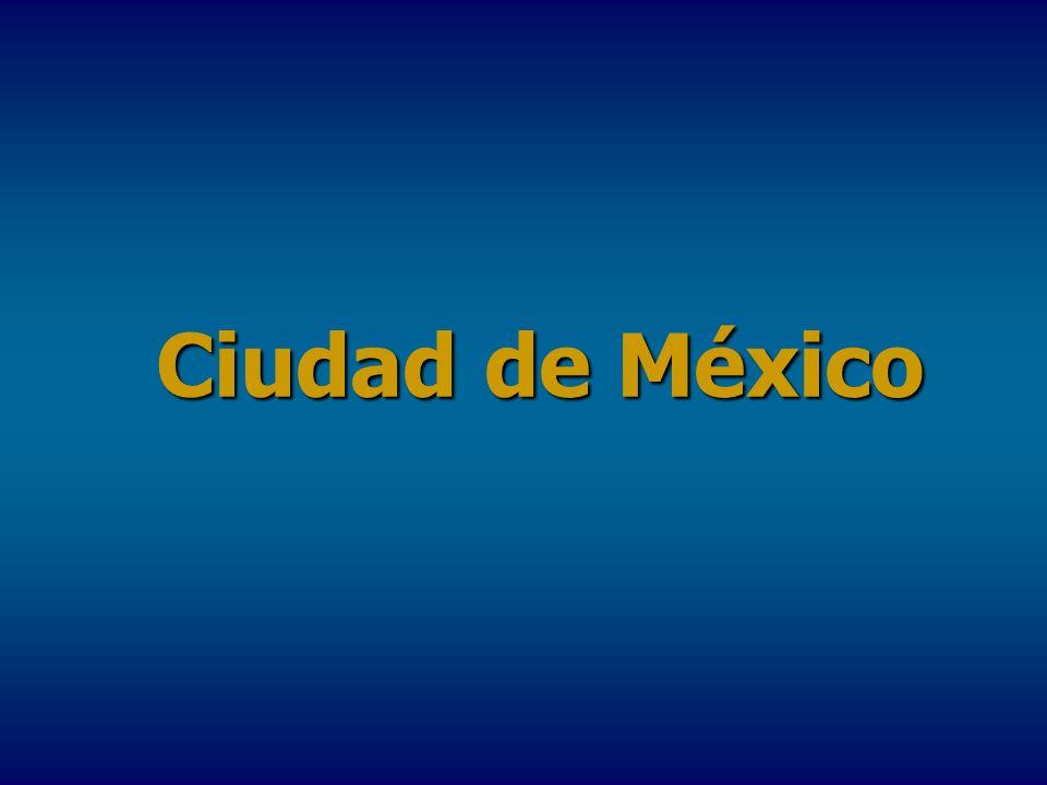 La Ciudad de México, D.F.