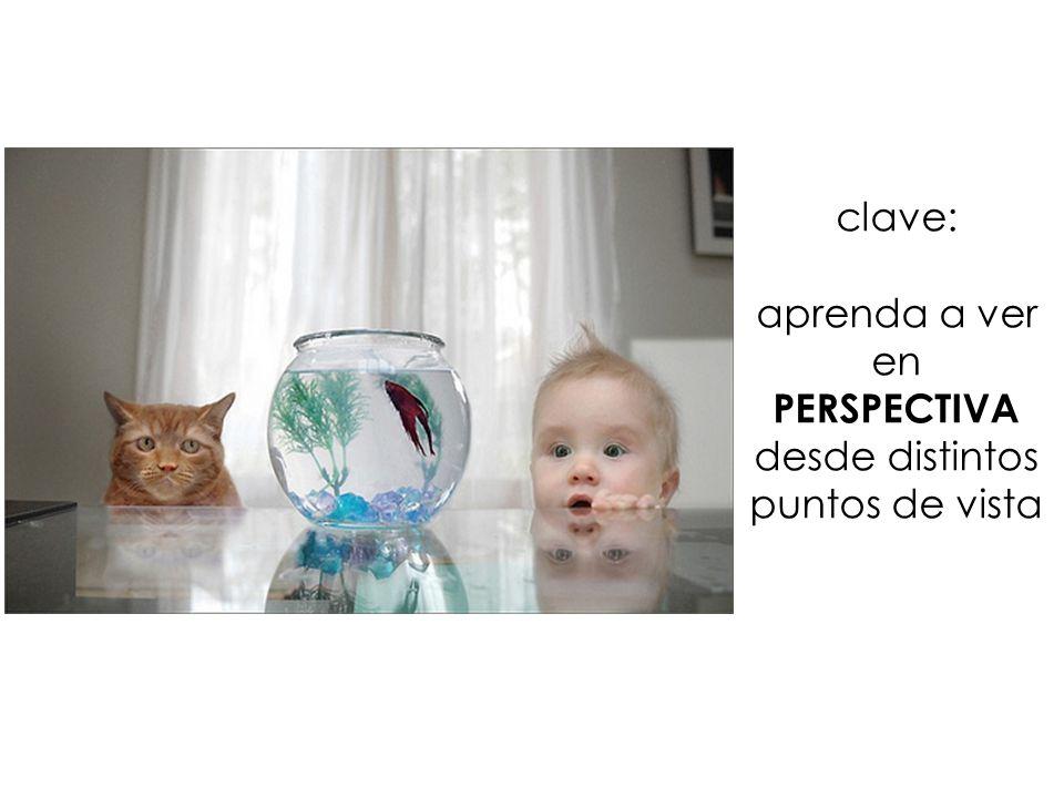 clave: aprenda a ver en PERSPECTIVA desde distintos puntos de vista
